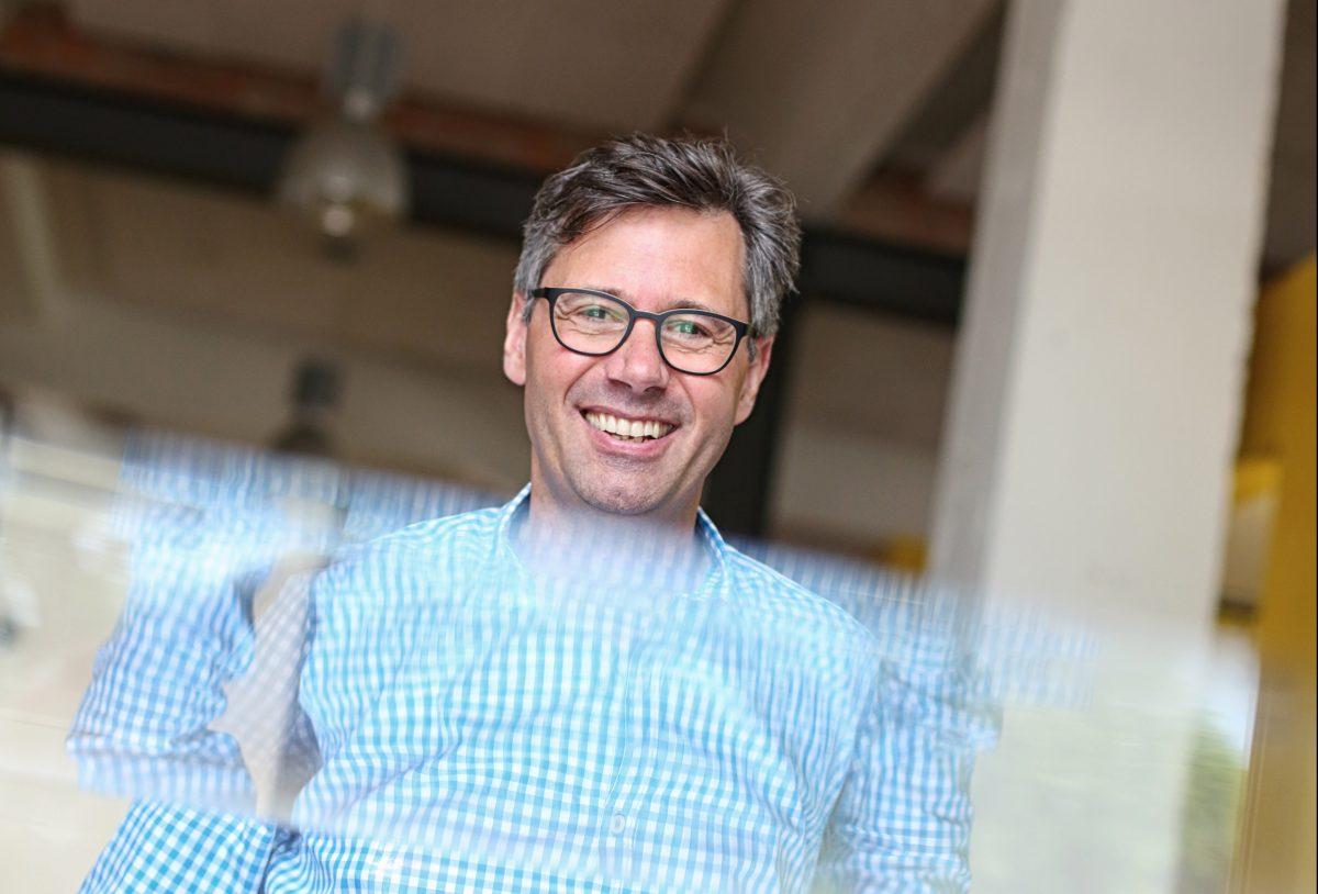 Tobias Hoffmann, geschäftsführender Gesellschafter der Hoffmann Maschinen- und Apparatebau GmbH. Foto: Holger Isermann