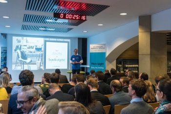 Beifall gab es für die Startups, die sich während der 2. Braunschweiger Pitch Night mit ihren vielfältigen Geschäftsideen präsentierten. Richard Borek jr. treibt die Digitalisierung weiter voran