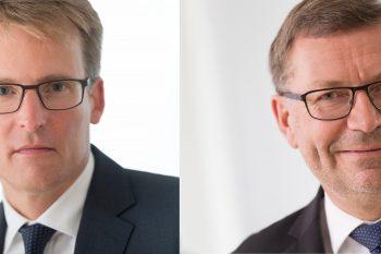 Links: Lars Gorissen, bisheriger Agrar-Vorstand, wird Sprecher des Vorstands. Rechts: Erik Bertelsen ist der neue Marketing- und Vertriebs-Chef. Foto: Nordzucker