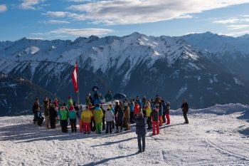 Majestätischer Blick auf das Bergpanorama vom Wildkogelhaus. Foto: Karsten Stross