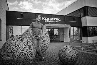 Andreas Sander, geschäftsführender Gesellschafter der Kosatec Computer GmbH. Foto: Holger Isermann