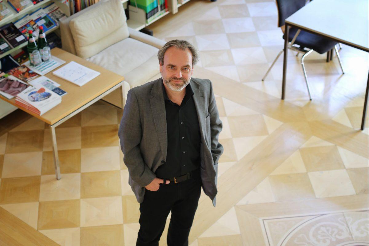 Prof. Dr. Eckhardt Fuchs leitet das GEI seit Oktober 2015. Foto: Merle Janßen