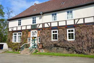 Im Gutshaus auf dem Edelhof in Vienenburg lebt die Familie von König seit 1606. Foto: Kjell Sonnemann