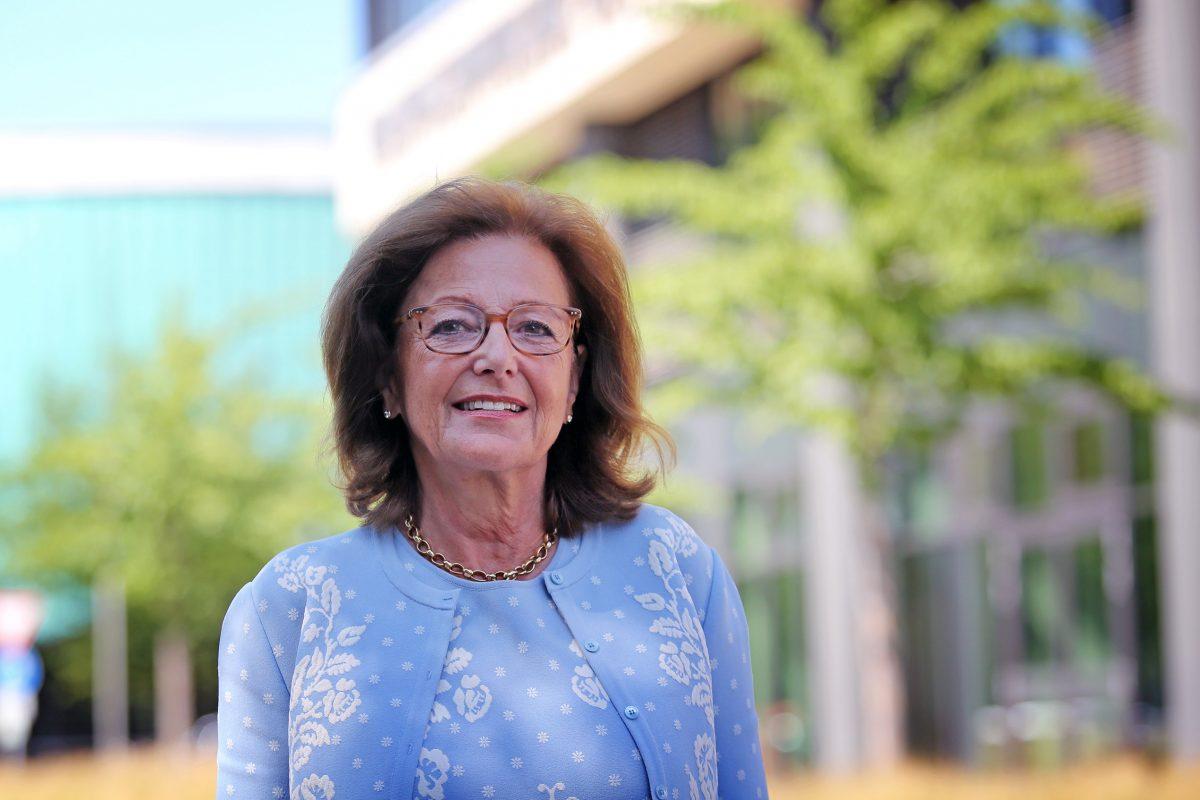 Elisabeth Pötsch, Präsidentin des Internationalen Freundeskreis Wolfsburg e.V. Foto: Holger Isermann