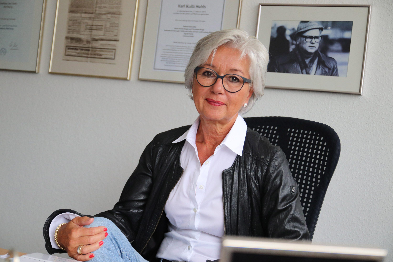 Karin Hohls-Kluge, Geschäftsführerin der Hohls KG in Vorsfelde. Foto: