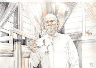 Dr. Lutz Thomas, geschäftsführerender Gesellschafter, führt den Familienbetrieb mit 98 Mitarbeitern seit dem Jahr 2006. Foto: Magnus Kleine-Tebbe