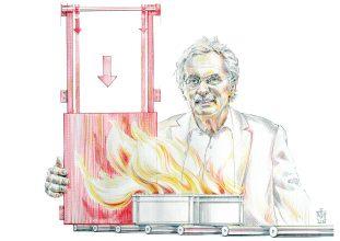 Jochen Stöbich, Firmenpatriarch und innovativer Brandschützer. Foto: Magnus Kleine-Tebbe