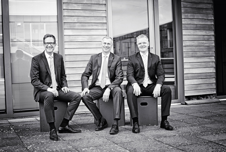 Sebastian Krapoth, Jürgen Klöpffer und Hartmut Rickel. Foto: Holger Isermann