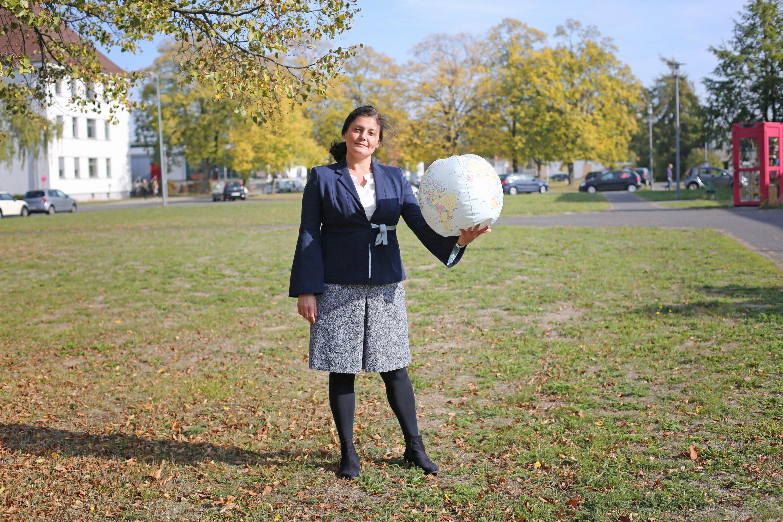 Prof. Dr. Anja P. Jakobi, Leiterin des Lehrstuhls für Internationale Beziehungen an der Technischen Universität Braunschweig .Foto: Stephanie Link