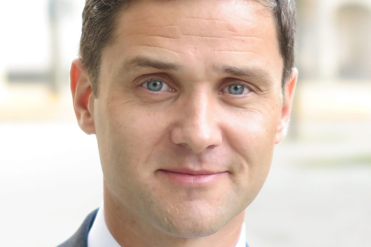 René Laux, Direktor des Braunschweiger Bankhauses Löbbecke. Foto: Andreas Schweiger