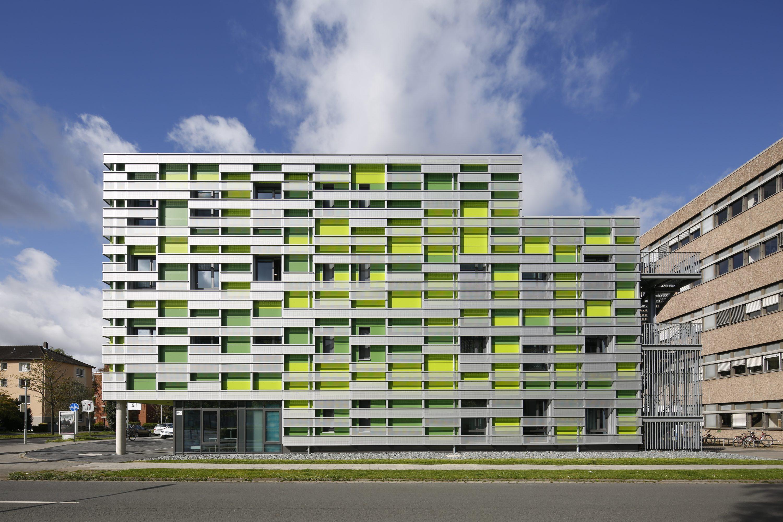 Das Studierendenhaus Masch.Bau wurde im Herbst 2016 fertiggestellt. Die Herstellkosten beliefen sich auf 2,35 Millionen Euro. Foto: Ingenieurbüro Hornig
