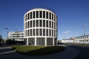 2016 bis 2017 leitete das Ingenieurbüro die elektrotechnische Planung und Umsetzung des Kontorhauses in der Frankfurter Straße. Foto: Ingenieurbüro Hornig
