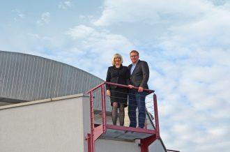 Leif Dollenberg und Marion Dollenberg. Foto: Frank Wöstmann