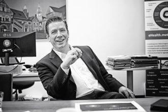 Kai Florysiak, Geschäftsführer der Metropolregion Hannover Braunschweig Göttingen Wolfsburg. Foto: Holger Isermann