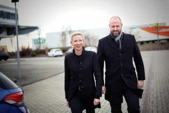 Bettina und Michael Klier, Aufsichtsratsvorsitzende und Geschäftsführer der Klier Hair Group GmbH. Foto: Holger Isermann