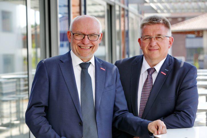 Hauptgeschäftsführer Eckhard Sudmeyer und Präsident Detlef Bade. Foto: Fotostudio Sascha Gramann