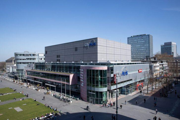 Das Duisburger CityPalais ist die neuste Erweiterung im Immobilien-Portfolio der Volksbank BraWo. Foto: Volksbank BraWo.