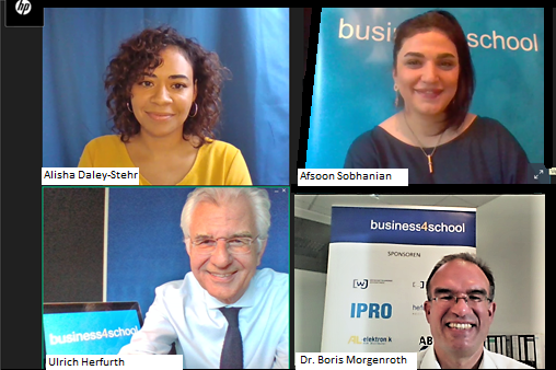 Das neue Semester business4school ist digital gestartet. Foto: Die Familienunternehmer.