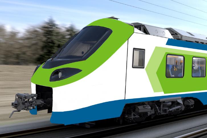 Der neue Cordia Stream von Alstom. Illustration: Alstom.