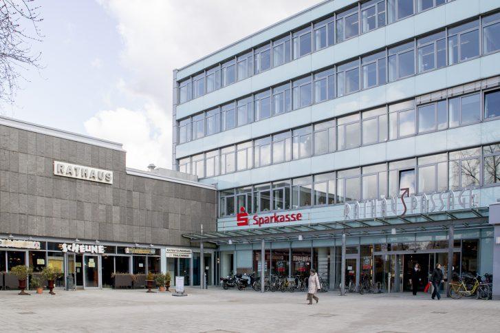 Die Rathauspassage in Pinneberg. Foto: AVW Immobilien AG.