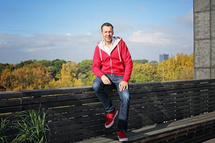Dirk Bode ist Gesellschafter und geschäftsführender Vorstand der fme AG. Foto: Stephanie Joedicke.