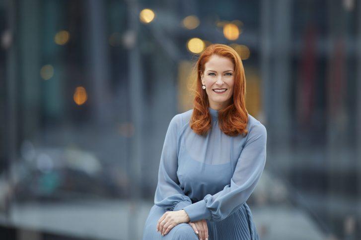 Saskia Pierschek, CEO der PierraaGroup, im Interview. Foto: Laurence Chaperon..
