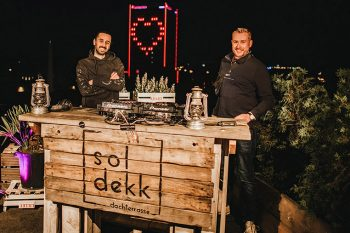 """The Roof Is On"" - DJ-Livestream vom soldekk"